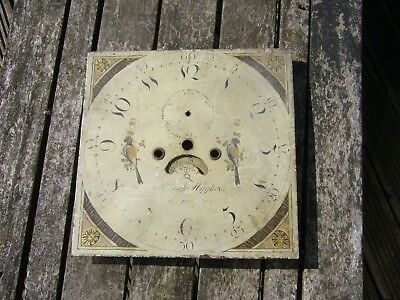 longcase clock dial / grandfather clock face