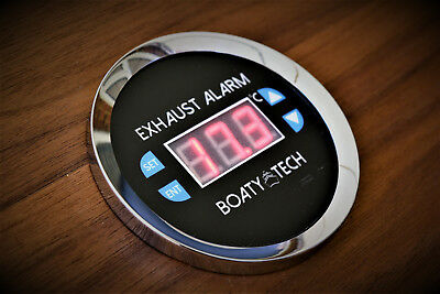 Marine Boat  and Yacht Exhaust Temperature Alarm