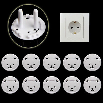 Baby Guard 10Pcs Safety Bear Electric Power Plug Protection Plug Cover