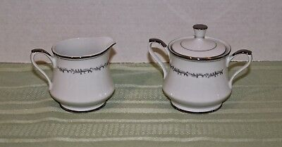 Vintage 3-Piece Sugar and Creamer Set - Empress China - Celebration - Japan