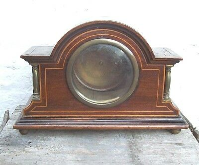 Good Edwardian Inlaid Mahogany Clock Case circa 1910