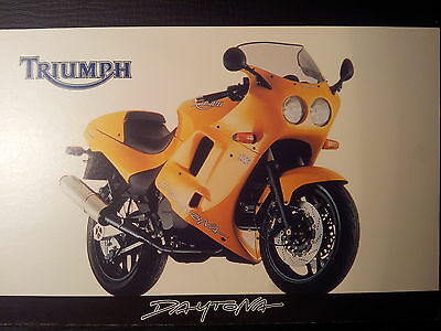 Triumph Daytona Original Postcard Fabulous! Unused