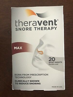 Theravent Snore Nose Strips Therapy Max Strength, 15 Count - Sleepless Sleep