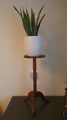 Original Vintage Plant Stand/ Lamp Side Table.Stands 61cm Tall And 25cm  Width.