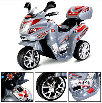Kids Ride On Motorcycle 6v Battery Operated 3 Wheels Electric