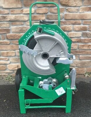"""AWESOME Greenlee 555 Hydraulic Pipe Bender 1/2""""-2"""" **Single EMT Shoe**"""
