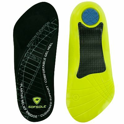 Sof Sole Plantar Fascia Gel Shoe Insole for Heel Spurs and Plantar Fasciitis,...