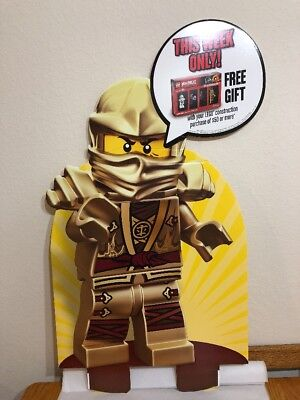 LEGO Minifigure Stand Up Store Display Sign Toys R Us Exclusive 40""