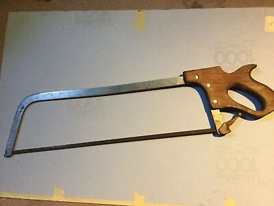 Vintage Hand Meat Saw