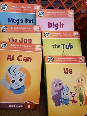 gently used hardback leapfrog tag jr books w/o reader