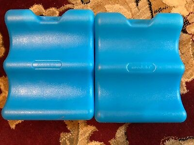 (2) Medela replacement  ICE PACK - Used