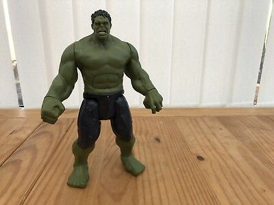"2015 Marvel Avengers Talking Incredible Hulk 12"" Action Figure Hasbro Toy"