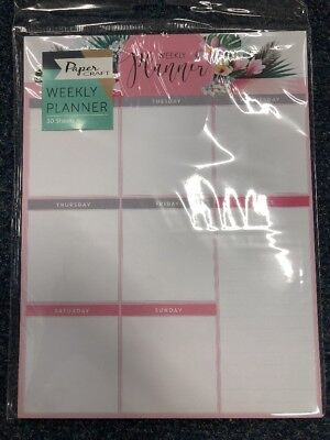 NEW Weekly Planner Pad 30 Pages