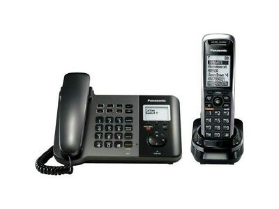 Used Panasonic - KX-TGP550T04 -SIP IP Dect Cordless Phone w/ Base and Handset