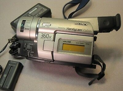 sony handycam vision 360x digital zoom