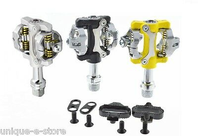 New Wellgo W01 MTB Clipless Pedals SHIMANO SPD Compatible