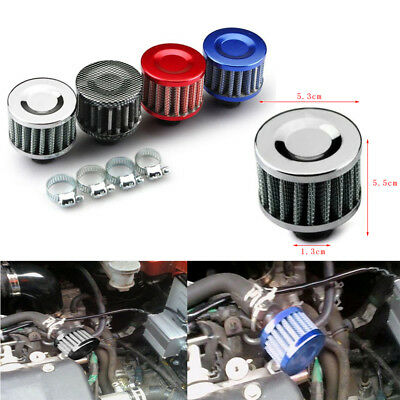 Universal 12mm Breather Air Filter for oil Catch Tank Crankcase Vent Intake