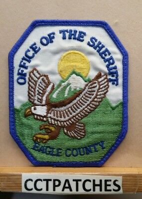Eagle County, Colorado Sheriff Police Shoulder Patch Co