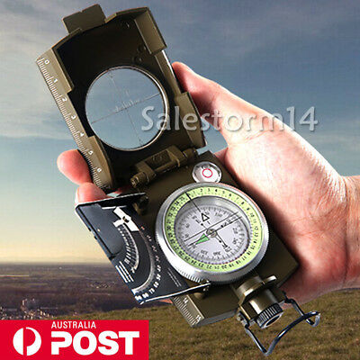 Professional Military Army Sighting Luminous Compass with Inclinometer Travel I