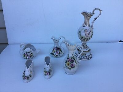 Selection of beautiful fine bone china items
