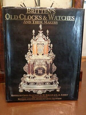 """Brittens Old Clocks & Watches and their Makers"" Hardback 80 pages mantle pocket"