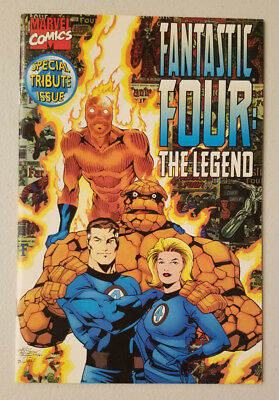 Fantastic Four The Legend Special Tribute Issue (Marvel Comics 1996)