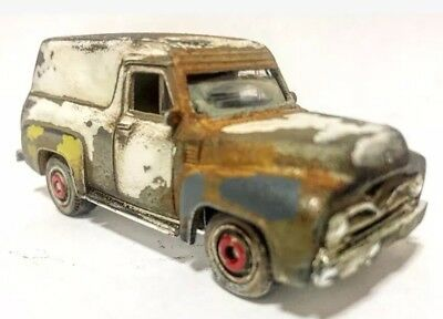 MATCHBOX  1955 '55 FORD F-100 PANEL DELIVERY TRUCK CUSTOM by D.M