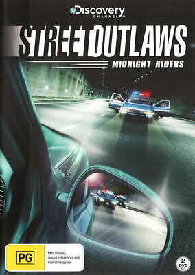 Street Outlaws: Midnight Riders (Discovery Channel)  - DVD - NEW Region 4