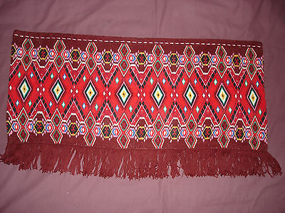 #652  Beautiful Vintage Hand Embroidered Tapestry  109cm/58cm(43''/23'')