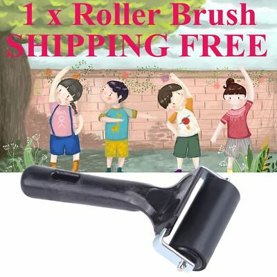 6cm Brayer Rubber Roller Brush Block Paint Art Painting Artists Craft Tool 1PCS