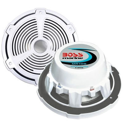 BOSS MARINE Mr105 Subwoofer High Power Single 1000 Watt Nautical