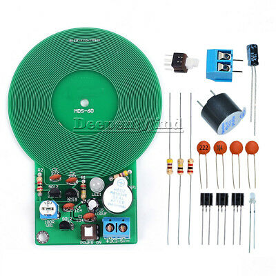 Metal Detector Kit Electronic Kit DC 3V-5V 60mm Non-contact Sensor DIY Kit