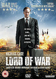 Lord Of War-Dvd-Nicolas Cage-Brand New Sealed