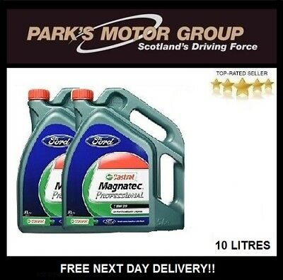 Castrol Magnatec Professional 5W-20 Engine Oil 10 Litre Ecoboost Engines 151A95