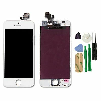 LCD Replacement For iPhone 5G Touch Screen & Digitizer Display Assembly White
