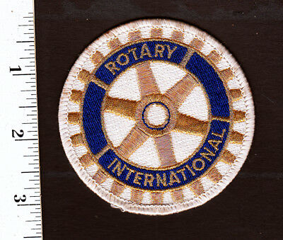 Rotary International Embroidered Patch....NICE...#253t