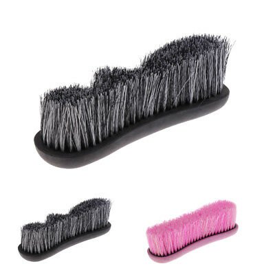 Horse Mane Tail Face Comb Finishing Brush Equestrian Care and Grooming Kit