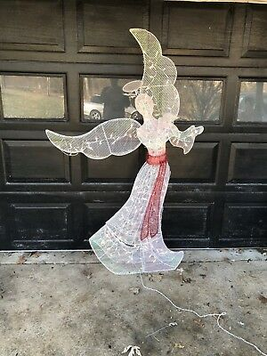68 lighted angel outdoor christmas decoration beautiful