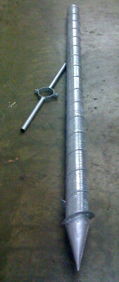Hot spot grain spear with handle