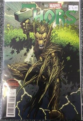 Thors #2 (2015) 1:25 Dale Keown Variant
