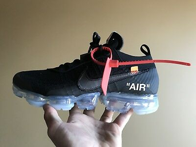 "fc26c20e15560 NIKE AIR VAPORMAX x Off-White ""The Ten"" Black Men s Size 10 Style ..."