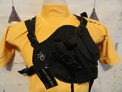 Coaxsher RP-1 Scout Radio Chest Harness~wilderness fire fighting~EMS~fire gear