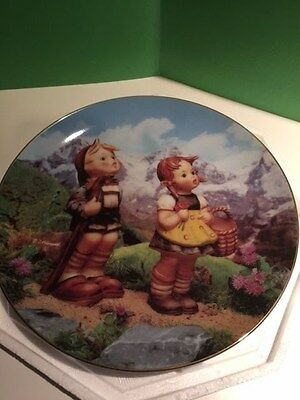 "M. J. Hummel Plate ""Little Explorers"" Collector Plate"