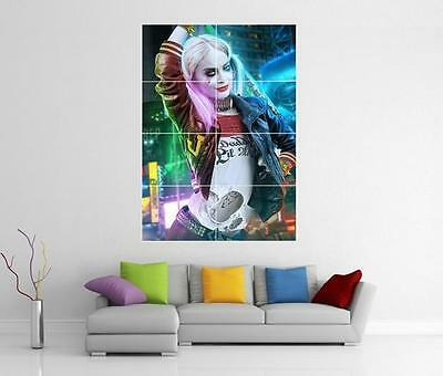 Harley Quinn Joker Suicide Squad Dc Giant Wall Art Photo Print Poster