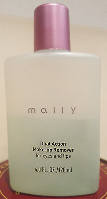 MALLY DUAL ACTION MAKE-UP REMOVER FOR EYES AND LIPS 4 oz NEW