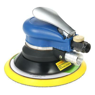 "Multifunction 6"" 10000RPM Pneumatic Palm Random Orbital Sander Polisher Air M4F6"