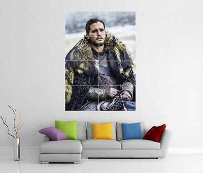 Game Of Thrones Jon Snow Giant Wall Art Photo Picture Print Poster