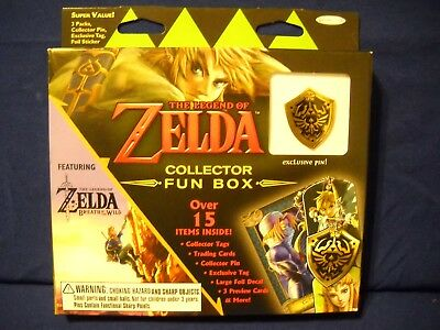 2017 Enterplay Legend of Zelda COLLECTOR Fun Box Shield Pin