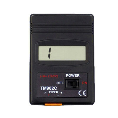 KE_ Digital LCD Temperature Meter K Type Thermometer Thermocouple Probe Detect