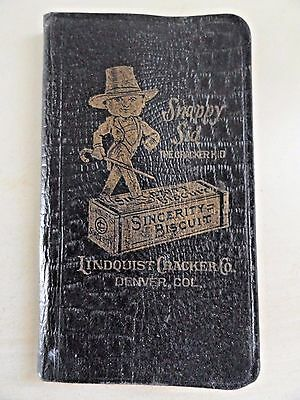 Snappy Sid The Cracker Kid - Sincerity Biscuit - Lindquist Cracker Co.Denver,Col